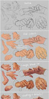 Hand Study 3 - Young and Old - Steps