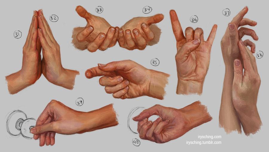 Hand Study 4 by irysching on DeviantArt
