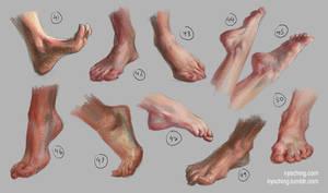 Feet Study 5