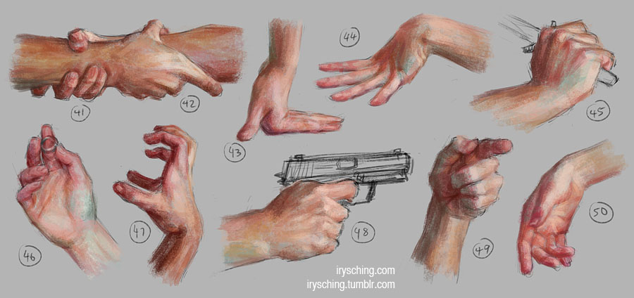 Hand Study 5 by irysching