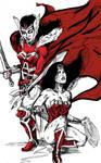 Wonder Woman vs Lady Sif