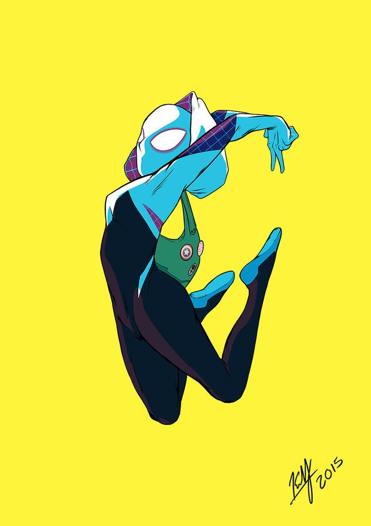 Spider-Gwen by BrothaBlu