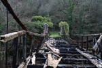 Troubled bridge over water