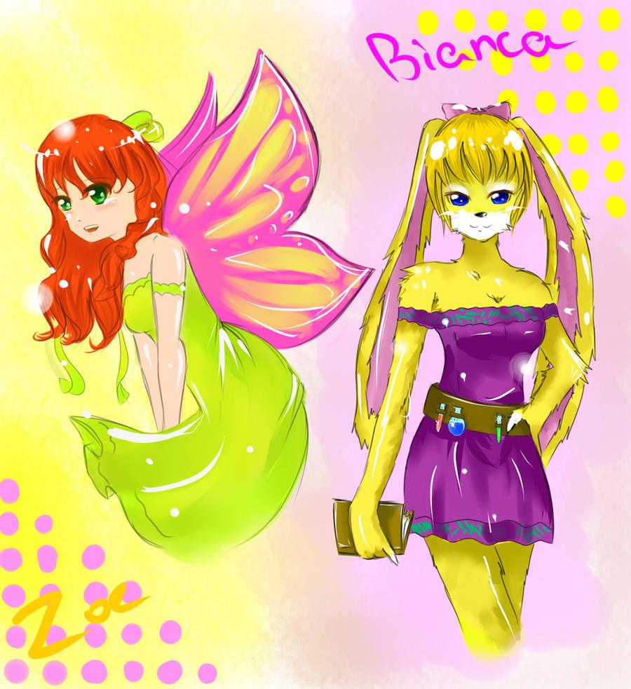spyro characters by yoko-hime
