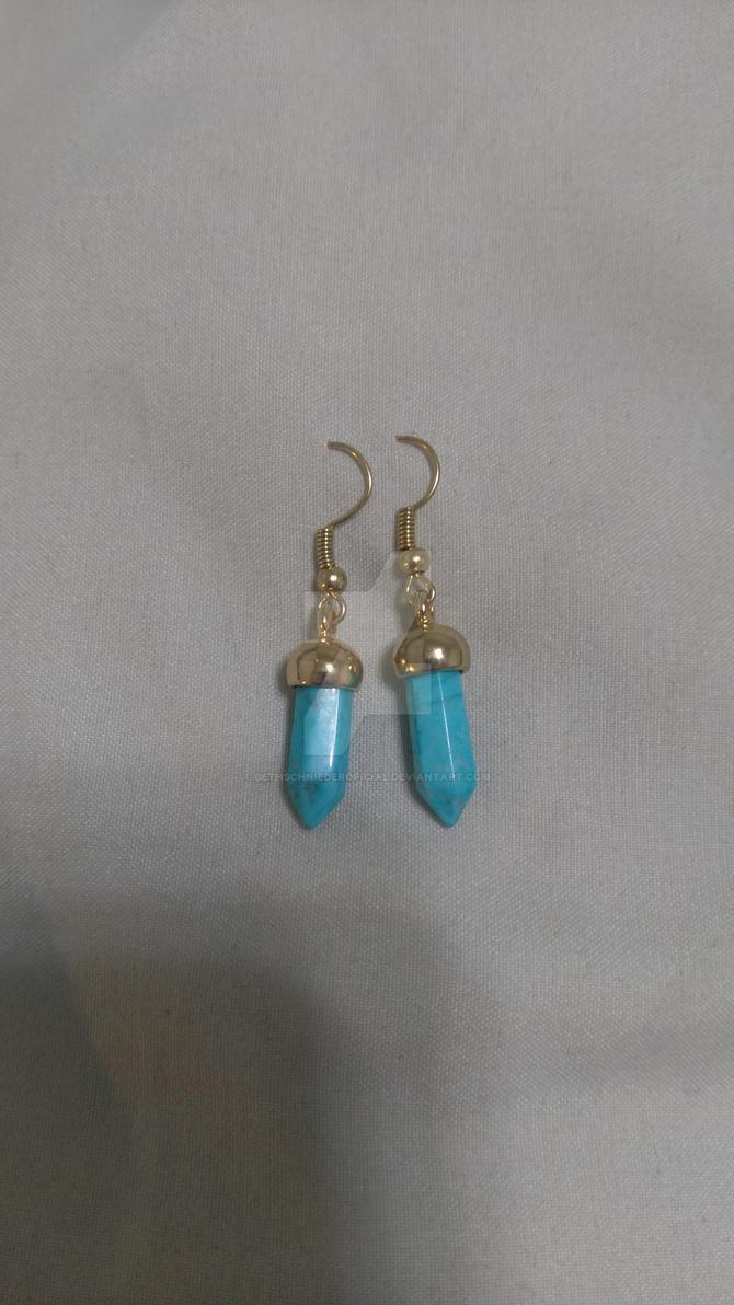 Light Blue Stone Earrings. By BethSchniederoficial ...