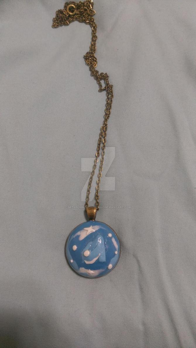 Cinderellas glass slipper pendantnecklace by bethschniederoficial aloadofball Choice Image