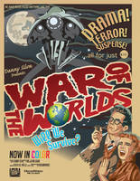 War of the Worlds Movie Poster by krimzonDS