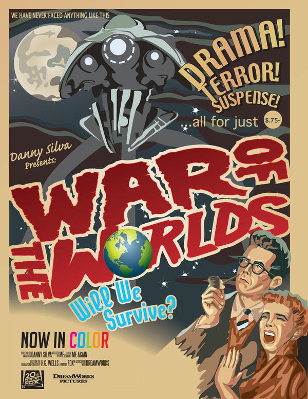 the war of the worlds poster. War of the Worlds Movie Poster