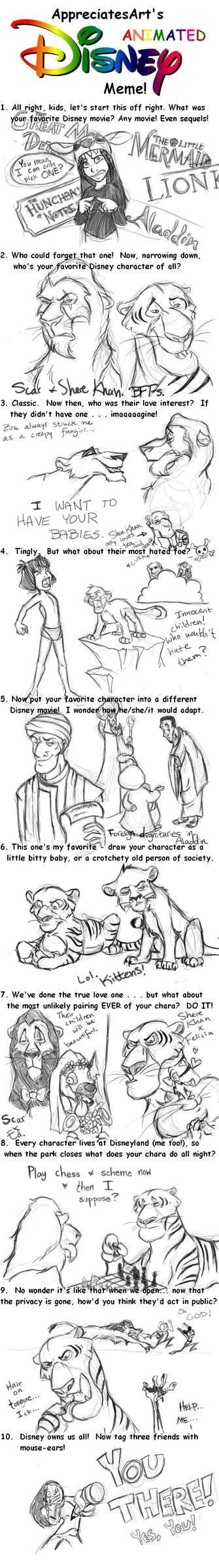 Disney Meme by HelenaSun
