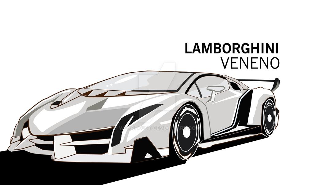 Desain Art Lamborghini Veneno Vector By Wearfaust On Deviantart