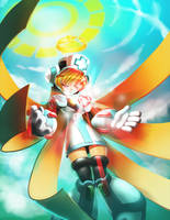 Angelic Aide by KoiDrake