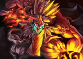 Fire Demon by KoiDrake
