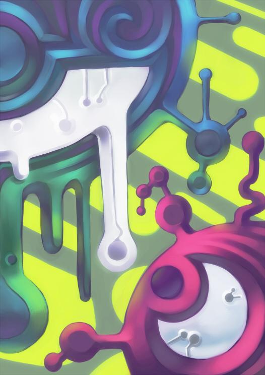 Blargh of Colors by KoiDrake