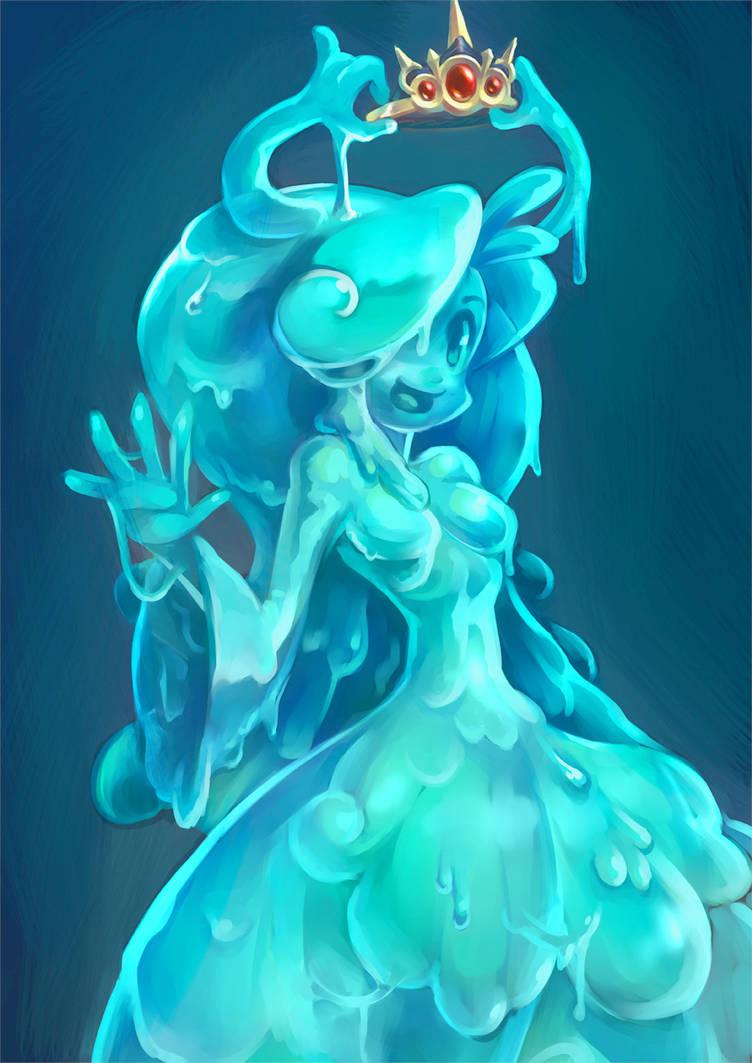 Princess Slime by KoiDrake