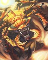 The Antlion by KoiDrake