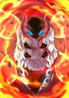 Fav Fire Type - Volcarona by KoiDrake