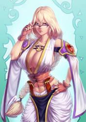 Lady Allison-Sarah by KoiDrake