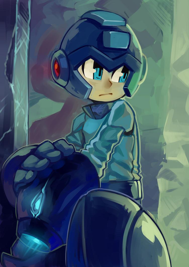 Blue Bomber by KoiDrake