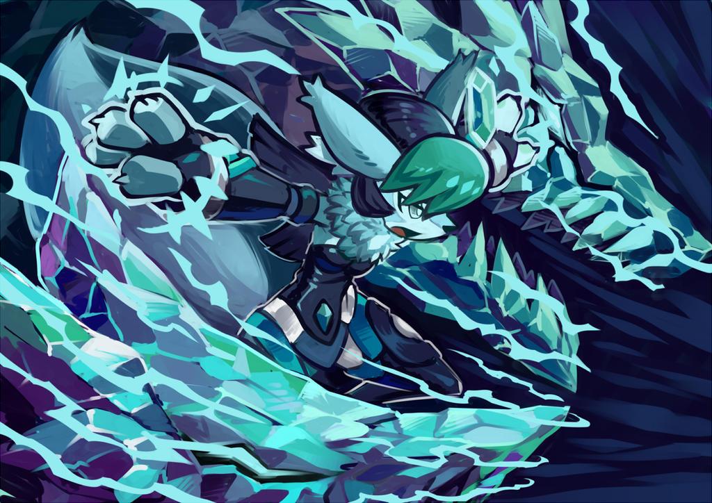Aurora Fenris Fang by KoiDrake