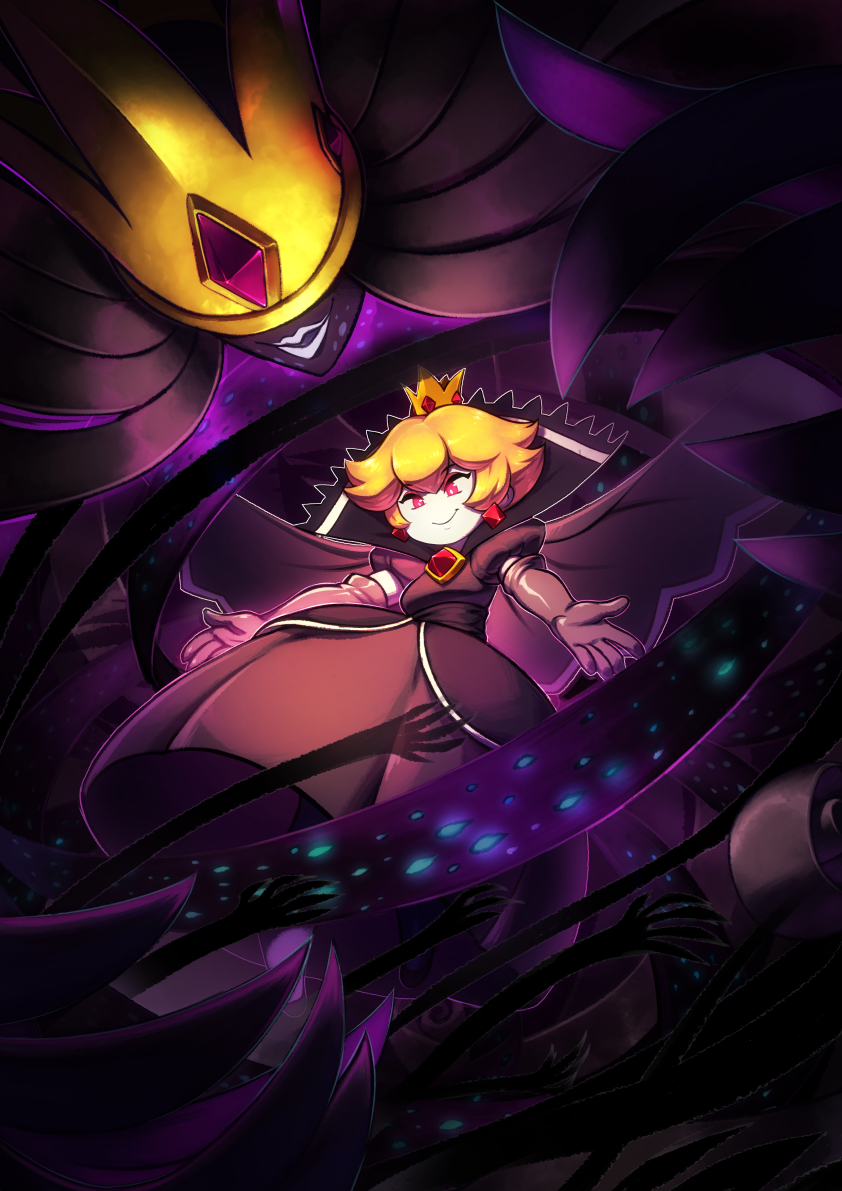 Shadow Queen by KoiDrake