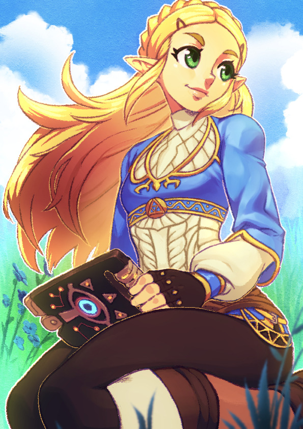 Hyrule Princess by KoiDrake