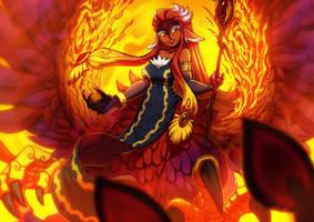 Phoenix by KoiDrake