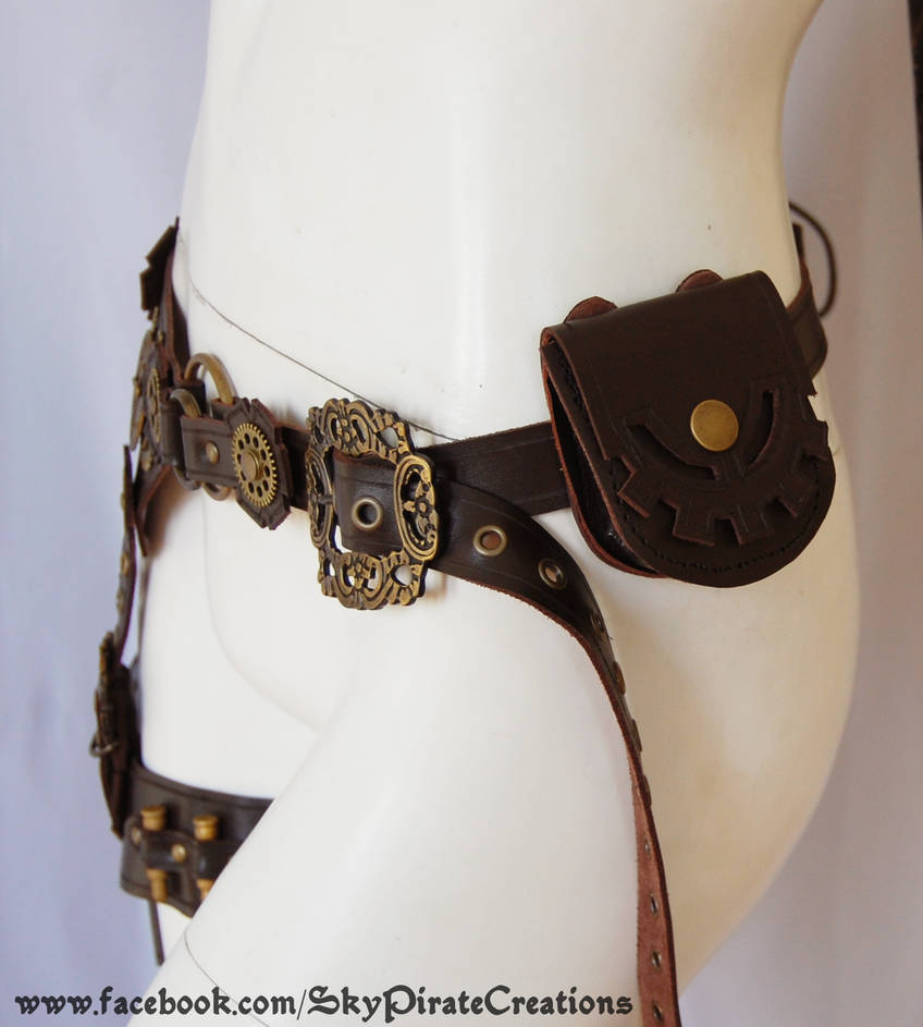 Steampunk Garter Belt by SkyPirate-Creations on DeviantArt