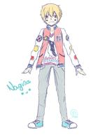 Free! - Nagisa doodle by Mirachaan