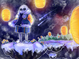 SPEEDPAINT - Stardin [Undertale AU - Outertale] by Mirachaan