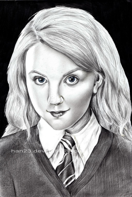 How To Draw Luna Lovegood
