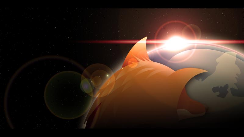 Firefox wallpaper by CAFxX