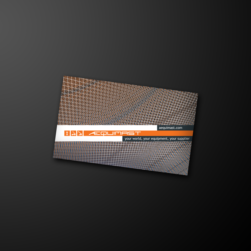 Aequimast business card draft by CAFxX