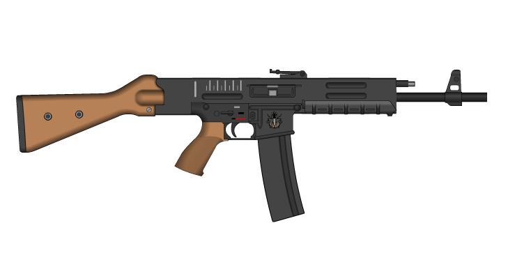 Tate Arm's Sturmgewehr 2012 by GeneralTate