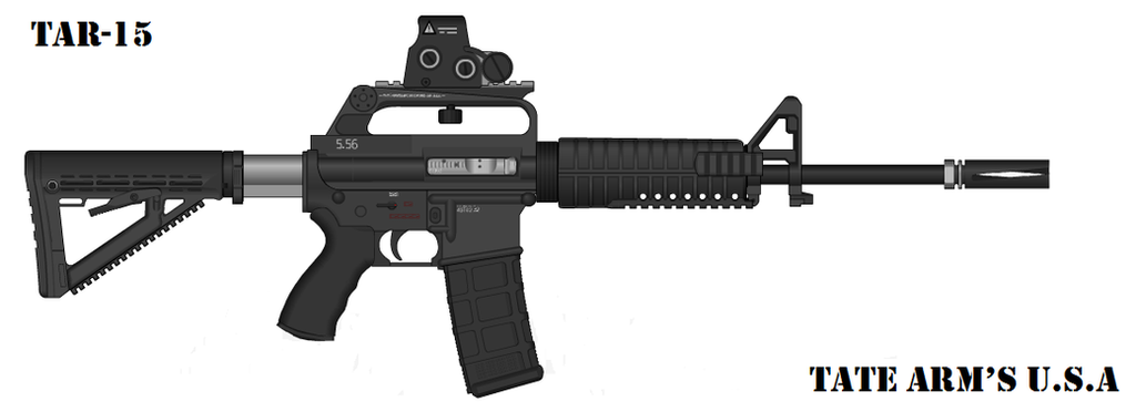 Tate Arm's TAR-15 by GeneralTate