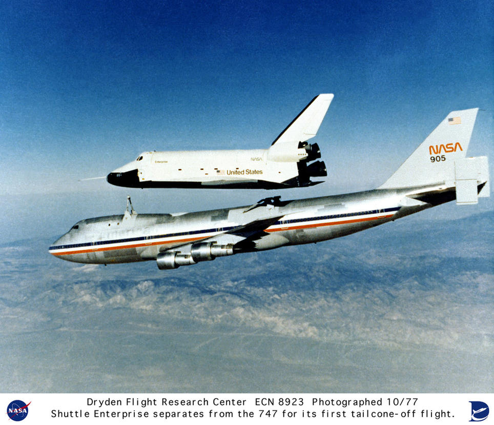 Space Shuttle Enterprise by GeneralTate