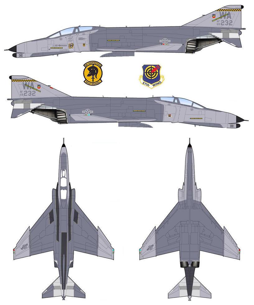 McDonnell Douglas F-4 Phantom II By GeneralTate On DeviantArt