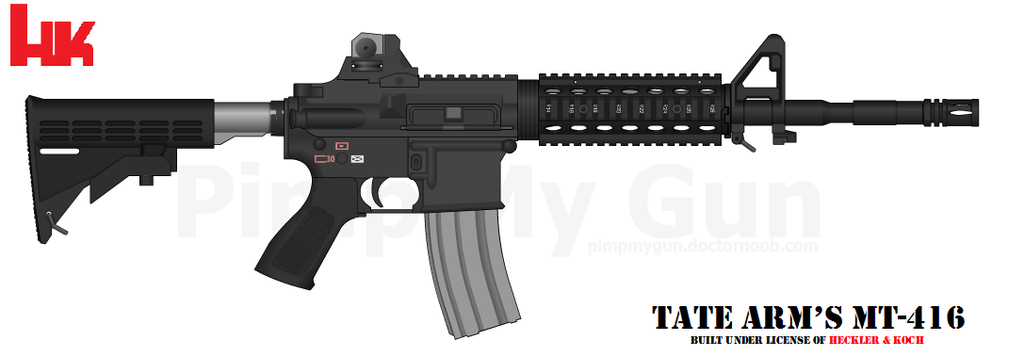 Tate Arm's MT-416 Preset by GeneralTate