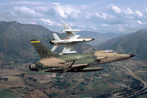 Republic F-105 Thunderchief by GeneralTate