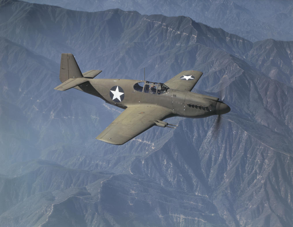 North American P-51 Mustang by GeneralTate