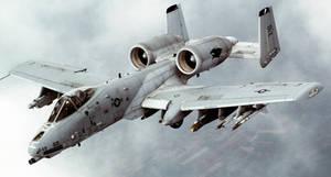 Fairchild Republic A-10 Thunderbolt II by GeneralTate