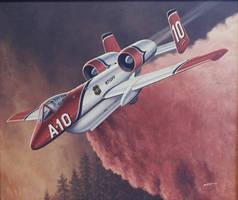 Fairchild Republic A-10 Firehog by GeneralTate