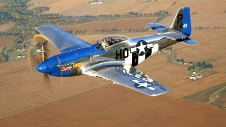 North American P-51D Mustang by GeneralTate