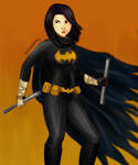 black bat by batbobbles
