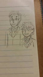 Alex and Cony going to a wedding. by NGWIA