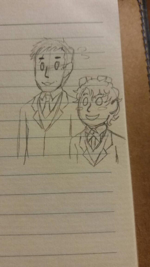 Alex and Cony going to a wedding.
