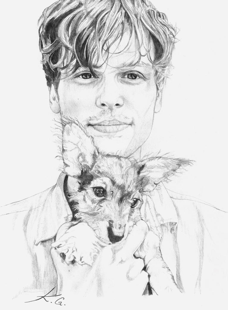 Matthew Gray Gubler Softlead Portrait by CrasyK