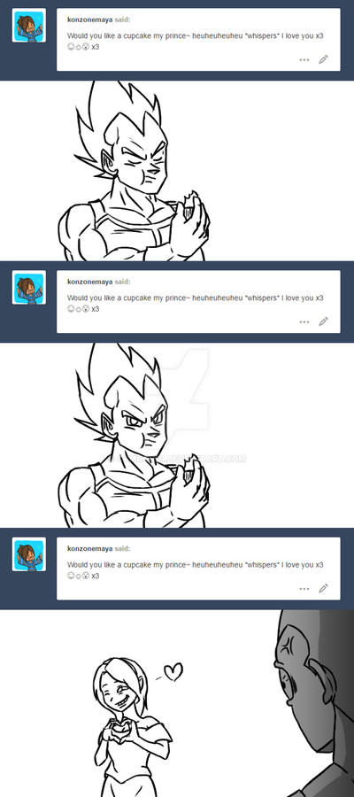 Ask Vegeta 18 by Camron23