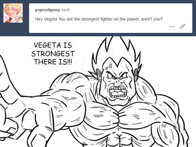 Ask Vegeta Q19 by Camron23