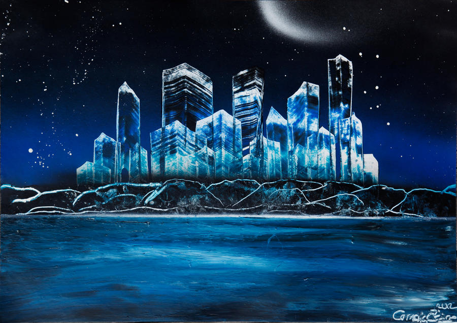 spray art city by homunculi92 on deviantart