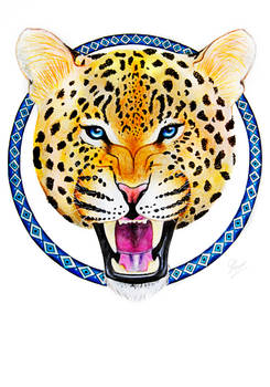Watercolor Leopard